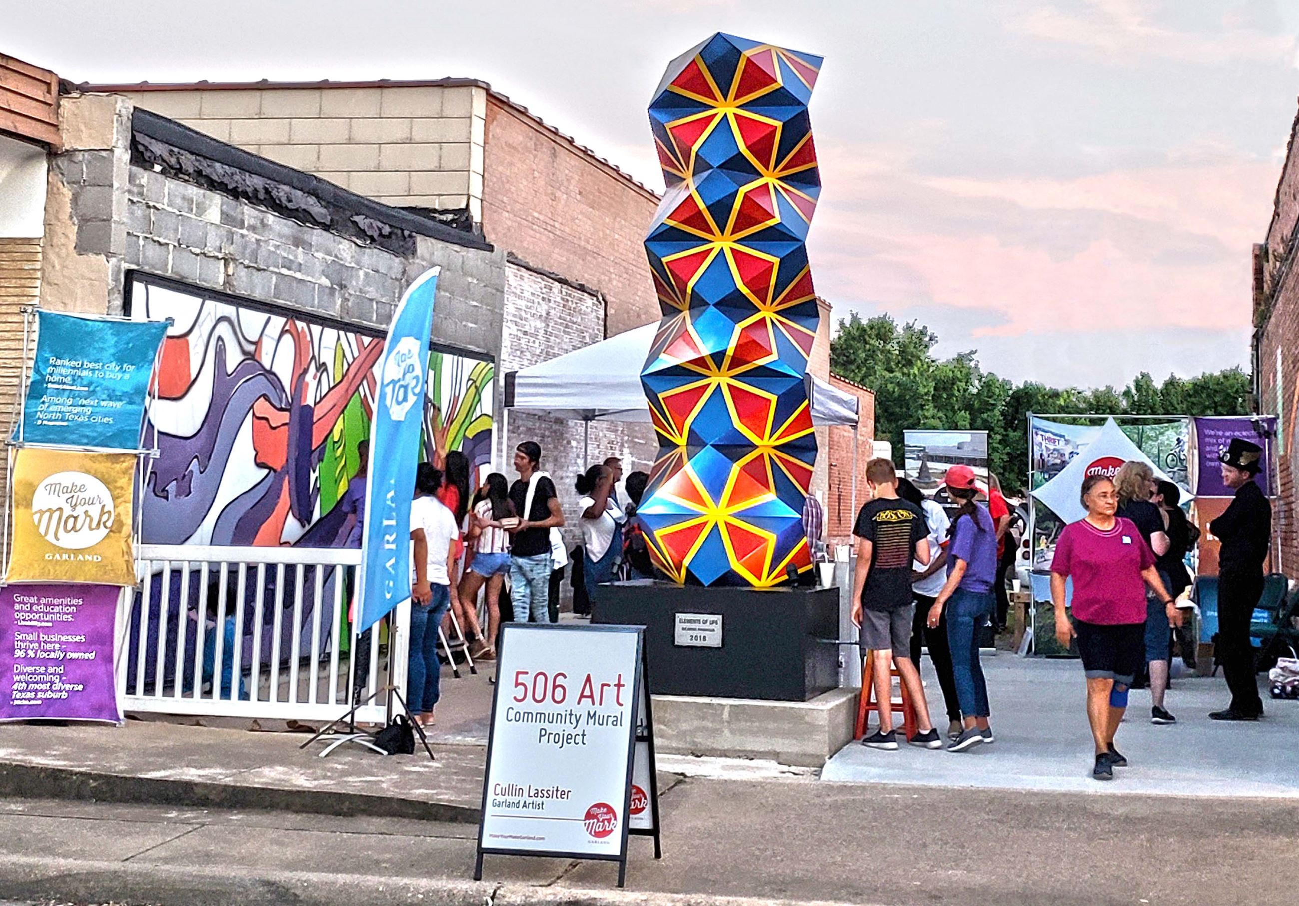 506 Art in Downtown Garland