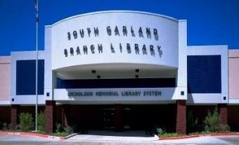 South Garland Branch exterior